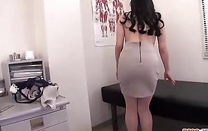 Miu Watanabe sucks detect then gets her pussy slammed hard - More at Pissjp.com