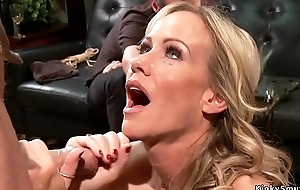 Hot Milf slaves getting anal fellow-feeling a amour