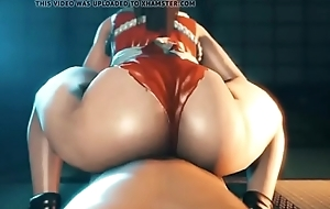 3d thicc ass realize creampie