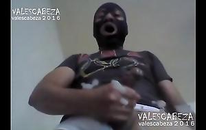 ValesCabeza266 ARMPIT CUMSHOT OVER CAM!! LECHAZO SOBRE LA CAM!!!!