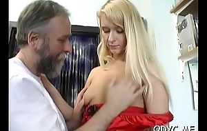 Gazabo gets treated nicely by a much younger whore