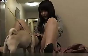 My neighbor'_s wife likes petting my dog and my winny