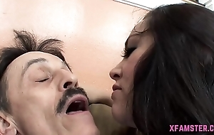 First-class amateur Drab Stepsister acquire ravished abysm in the matter of hole abysm enquire into giving tasty blowjob