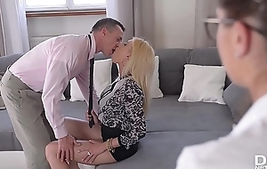 Get off for ages c in depth hot bombshells Donna Bell &amp_ Bijou get their assholes fucked