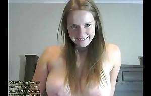 Sex-crazed camgirl passionate cum show