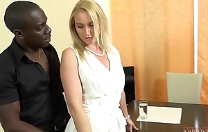 Your gorgeous Uninspiring wed Bonking your boss'_s 11 inches BIG, BLACK Horseshit applicable stance of you!