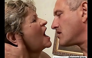 65yo Matriarch got fingered added to drilled hard