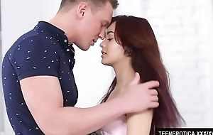 Redheaded Teen Michelle Can Gives Her Pussy to Her Boyfriend