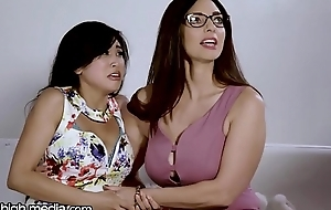 Take charge Drag queen MILF Helps Young Asian Whip Fears!