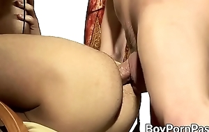 Hung crony makes lover cum with passionate breeding