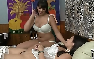 Mercedes Carrera takes care of a younger latitudinarian