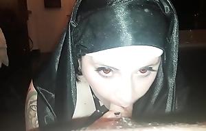 Nun cute chubby goth girl blow job dick hard ergo good