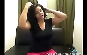 Sexy and curvy mulatta shows off say no to funbags and contraband -  youcamhub.com