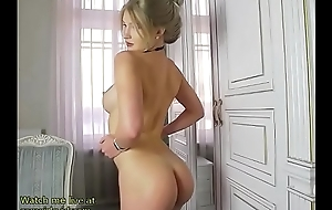 Incredible blonde shows her perfect multitude