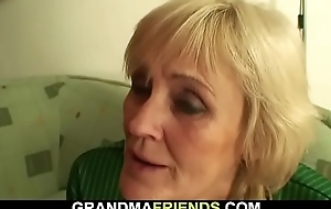 70 yo granny loses a gamble added to gets double dicked