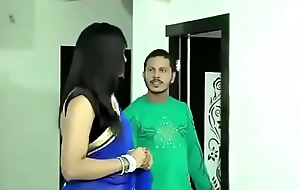 Pulchritudinous Bhabhi in saree doing hot sexual relations with other man
