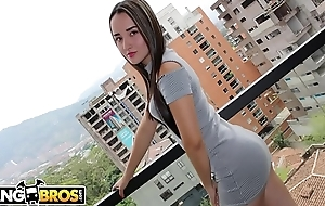 BANGBROS - Young Colombian Amateur, Valeria, Wants Near Be A Pornstar