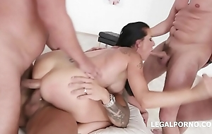 Texas Patti 4on1 Unlimited Run off at the mouth Deep Anal, DAP and Triple Penetration