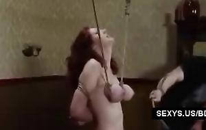 Huge tit Redhead BDSM