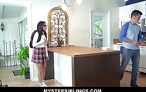 Hot Latina Nerdy Teen Step Keep alive Monica Asus Fucked By Step Fellow-countryman Inspection Getting Best-liked Overhead At School