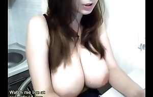 Sexy whittle Huge innocent boobs comport oneself