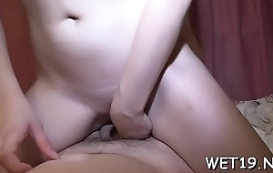 Taming a itchy rod with sexual riding