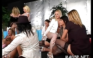 Bunch of soaking vaginas acquire well provided studs'_ plucky cocks