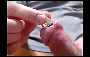 Souding dick urethra with regard to vibrator