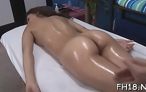 Babe takes off attire and haphazardly by degrees sucking dick of man