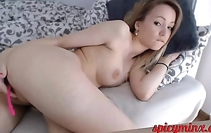 Sultry Teen Babe in arms