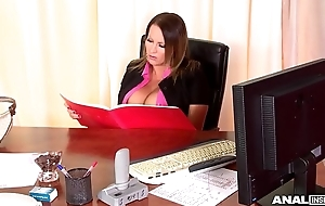 Anal Inspection Onwards Hardcore Office With Laura Orsolya &amp_ Abbie Cat