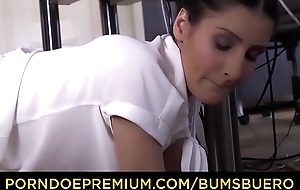 Hoboes BUERO - Hardcore sexcapades at eradicate affect office thither boss plus hot secretary