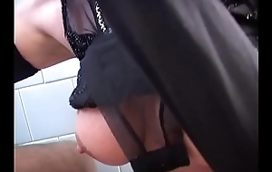 Costs likes to dress up and get blowjob foreign his wife