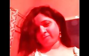 Horn-mad punjabi git bhabhi selfie in redroom thither dirty Hindi audio
