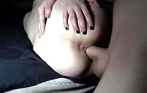 Tatted 18 Yr ancient takes Cumshot on camera!