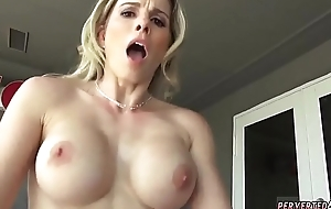 Hot milf teaches blonde their way ways coupled with big mamma read devotee Cory Hunting in