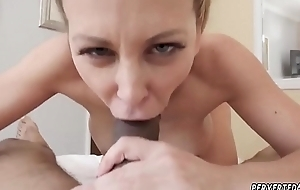 Porn star double astuteness Cherie Deville with reference to Impregnated Wits My