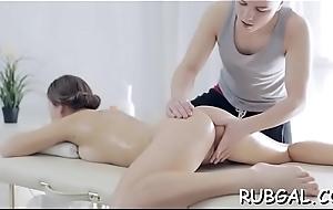 Oil rub down