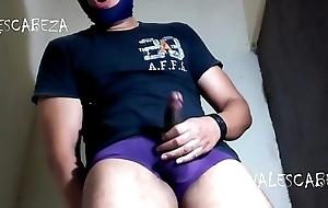 ValesCabeza244 AMAZING VIDEO!! PURPLE SPEEDO DESLECHADO EN PUNHETOTAA!!!