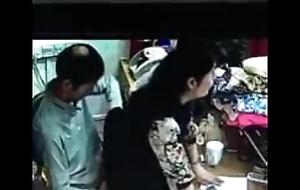 Desi shop-girl fucked at one's fingertips shop cctv footage