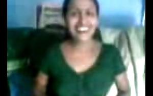 Odisha aunty boob cram away from disallow
