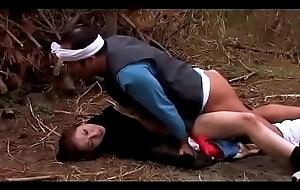 Japanese female detective gets meretricious while injured (Full: bit.ly/2Kzm0ia)
