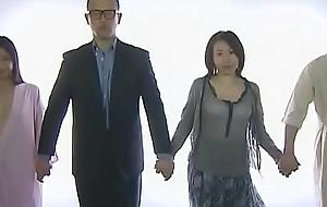 [F A X - 320] Part 1: Fond of couples swinger festivity