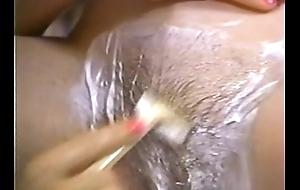 Retro porn - sexy blonde drop off to sleep malicious brown hair