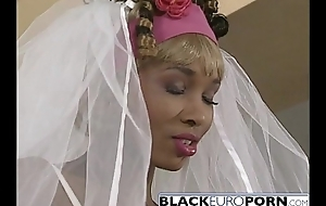 Ebony bride gets pounded overwrought famously profitable fellow wan dong