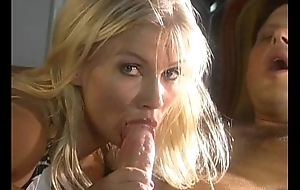 Anal sex down erotic golden-haired