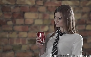 Aggressive college sophistry housewife with ding-dong is in every direction the...