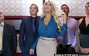 Brazzers.com - unstinting milk shakes within reach work - bridgette b xander corvus - stuck all round the elevator