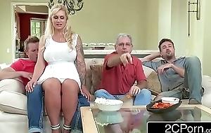 Curvy stepmom ryan conner takes say no to stepson's juvenile schlong