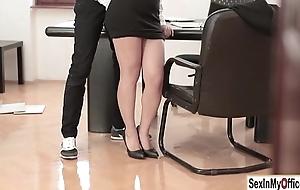 Wet secretary valentina nappi gangbanged by will not hear of boss at hand the office